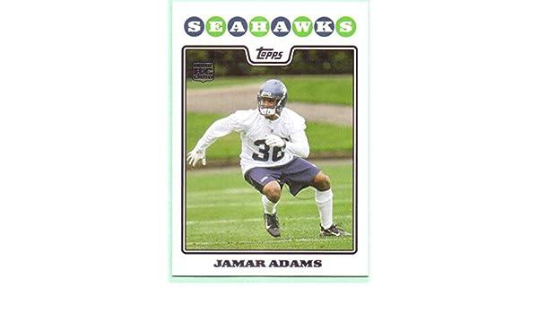 Jamar Adams 2008 Topps Rookie #440 - Seattle Seahawks at
