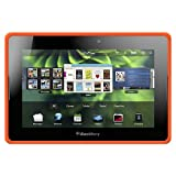 Amzer Silicone Skin Jelly Case for BlackBerry PlayBook - 1 Pack - Case - Frustration-Free Packaging - Orange