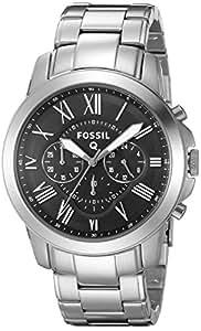 Fossil Hombre ftw10031Fossil Q subvención Cronógrafo Acero Inoxidable Conectado Reloj