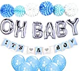 Baby Shower Decorations for Boy| OH BABY...
