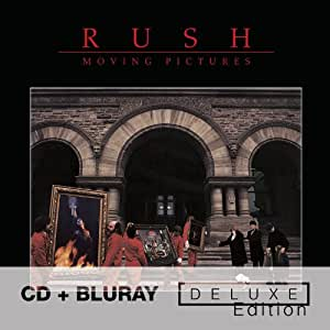 RUSH Moving Pictures - Deluxe Edition [CD + Blu-ray]