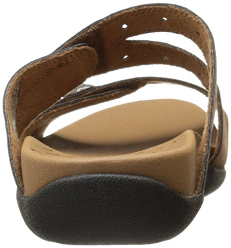 Women's Ridge Sandal Brown Slide Button Rockport RTwU5PxqTn