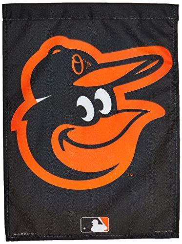 """MLB Baltimore Orioles WCR66556012 Garden Flag, 11"""" x 15"""""""