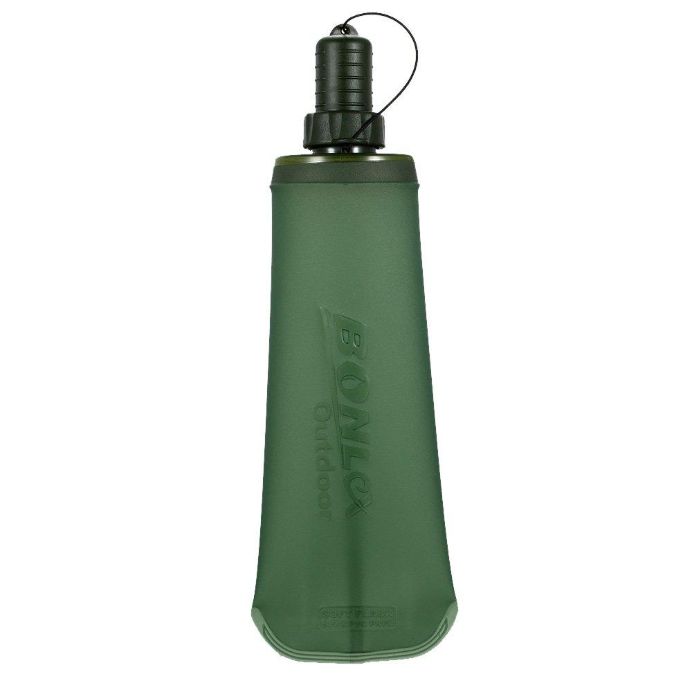 Lixada Plegable Botella de Agua Suave Corriendo Camping Senderismo Bolsa de Agua de Bebida Plegable