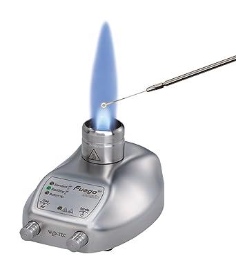 Neolab 7 8242 Sicherheitsbrenner Fuego Scs Basic Edelstahl Fußpedal Gewerbe Industrie Wissenschaft