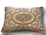Tache 1 PC French Chenille Woven Roman Garden Pillowcases