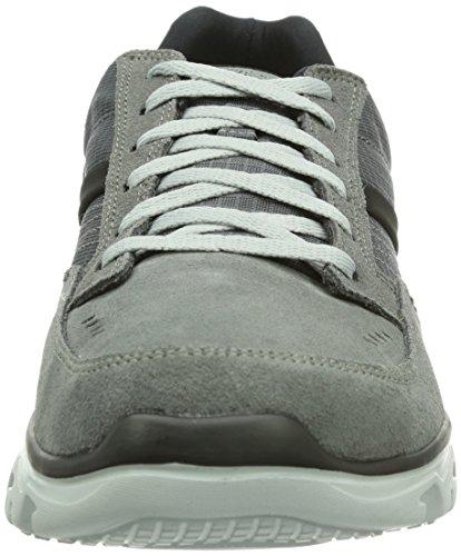 Skechers L-FitComfort Life - Zapatillas para hombre Gris (char)
