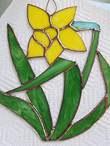 Stained Glass Daffodil - Stained Glass Daffodil