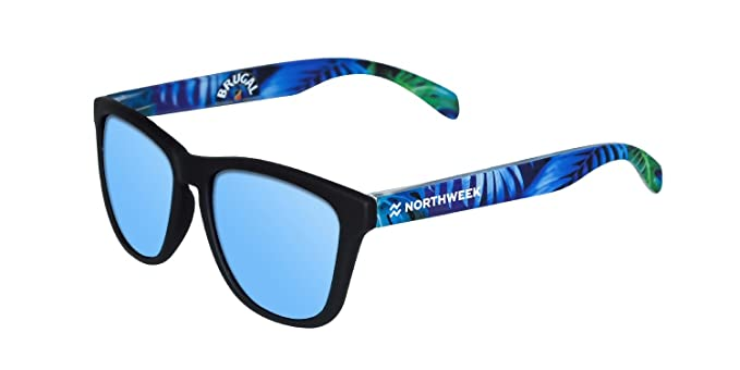 NORTHWEEK Brugal Edition Gafas de sol, Black/Blue, 45 Unisex