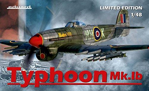 EDU11117 1:48 Eduard Typhoon Mk.IB Limited Edition [MODEL BUILDING KIT] from Eduard