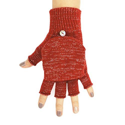 Flammi Ladies Convertible Fingerless Gloves