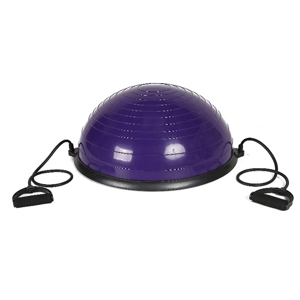 Sports Fitness Yoga Wave Speed Ball Semi-Circular Balance Ball Fitness Yoga Hemisphere Balance Hemisphere Rehabilitation Training Hemisphere Fitness Ball (Load: 400kg) Exercise Ball Chairs