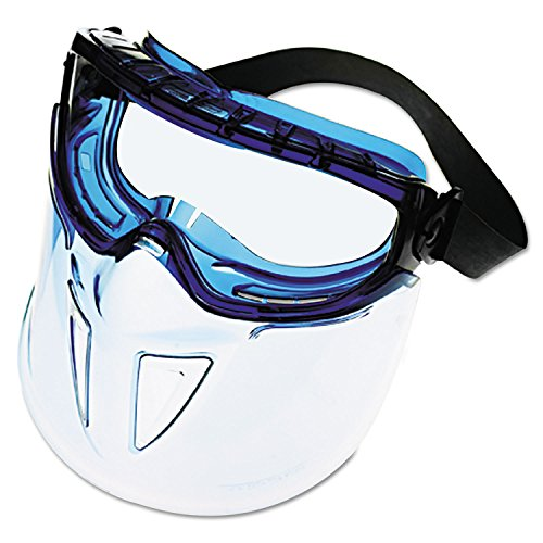 - Jackson Safety 18629 V90 SHIELD Goggles, Clear/Blue