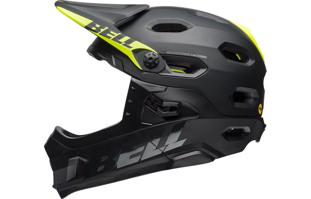 BELL(ベル) ヘルメット スーパーDH ミップス マットブラック Mサイズ BELL7088078   B0795MRVBG