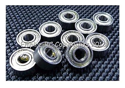 "Metal Shielded Ball Bearing Bearings R2-5 R2-5ZZ 1//8/"" x 5//16/"" x 9//64/"" 20 Pcs"