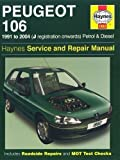 Peugeot 106 Petrol and Diesel Service and Repair Manual: 1991 to 2004 (Haynes Service and Repair Manuals) by Coombs, Mark, Rendle, Steve 6th (sixth) Revised Edition (2006)