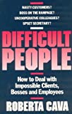 Difficult People, Roberta Cava, 1550131869