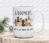 Dog Groomers Gift Gift for Groomers Pet lovers gift dog lovers gift animal lovers gift Pet doctor dog spa groom coffee mug cup mug