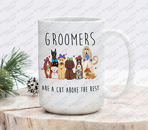 Dog Groomers Gift Gift for Groomers Pet lovers gift dog lovers gift animal lovers gift Pet doctor dog spa groom coffee mug cup mug by MurielJerome