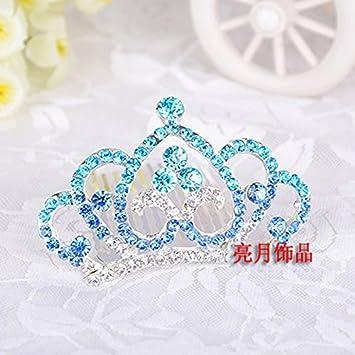 Amazon Quantity 1x Korean Children Birthday Gifts Water Diamond Jewelry Princess Crown Tiara Party Wedding Headband Women Bridal