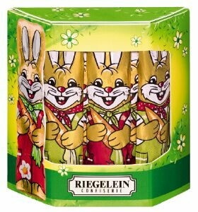 Riegelein Solid Chocolate Bunnies Box 125g