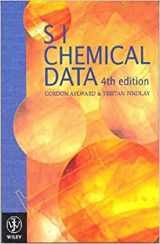 Book SI Chemical Data
