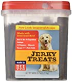 Jerky Treats Tender Strips Dog Snacks Beef 60 oz. 3.75 lbs Jerky-hl Jerky-7q (60 Oz)