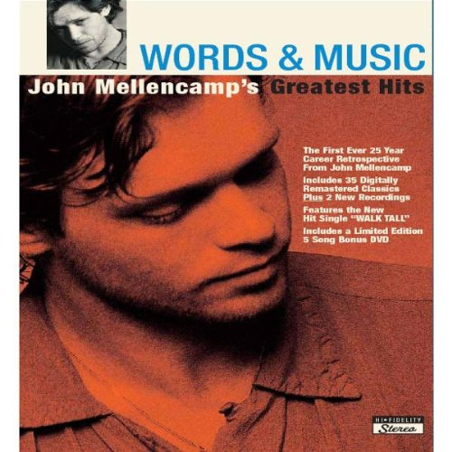 Words & Music: John Mellencamp's Greatest - John Mellencamp Cougar Scarecrow