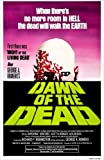 "Dawn of the Dead (1978, George A. Romero) Movie Poster 24""x36"" - New. Ships Rolled In Shipping Tube."