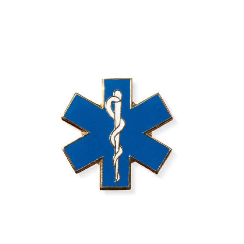 Spilla Pin Soccorritore Star Of Life Blu Spencer
