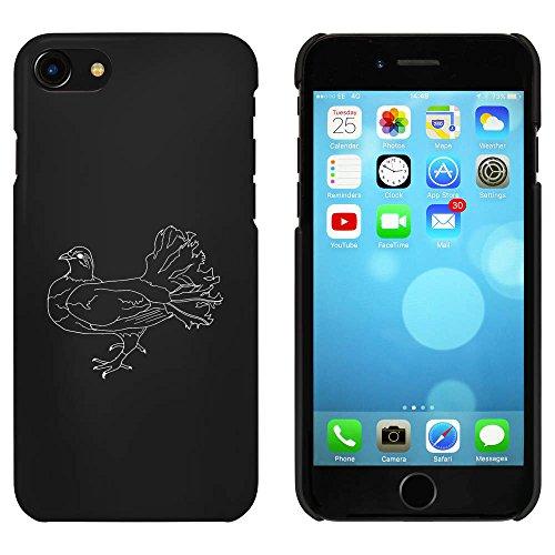 Noir 'Colombe' étui / housse pour iPhone 7 (MC00067459)