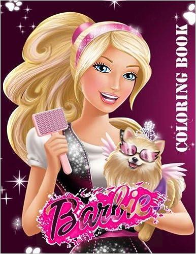 Amazon BARBIE Coloring Book 9781981797356 Mrs Amanita Books