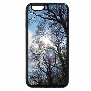 iPhone 6S Plus Case, iPhone 6 Plus Case, sun peeking through the trees