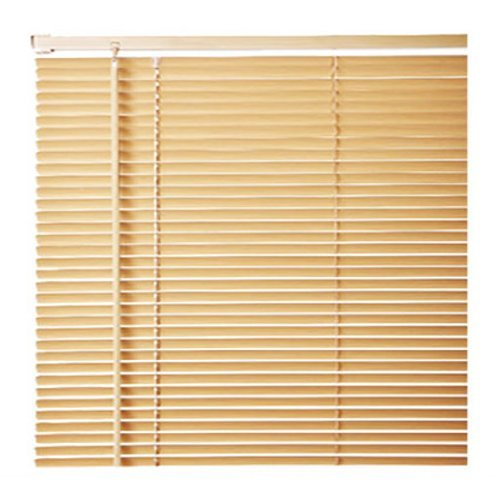 Quality Easy Clean Woodgrain Effect Venetian Blinds in Natural, Width 120cm x Drop 150cm