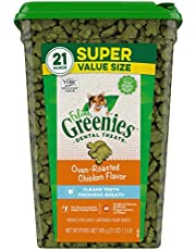 Greenies Dental Treats for Cats - Chicken - 21oz