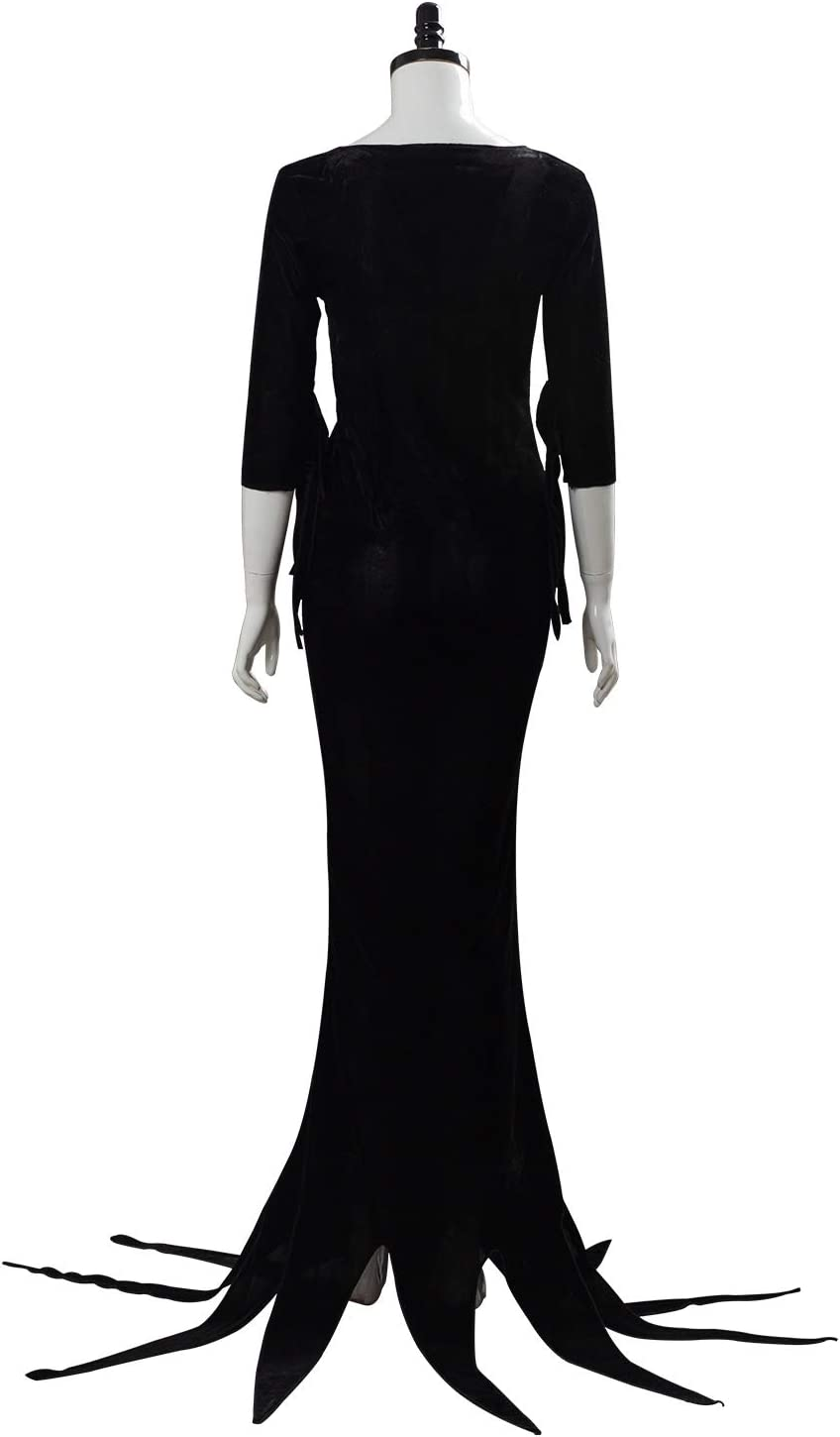 RedJade Morticia Addams The Addams Family Outfit Vestido Suit ...