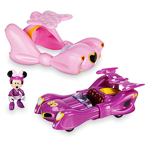 Disney Minnie Mouse Transforming Pullback Racer - Mickey and the Roadster Racers