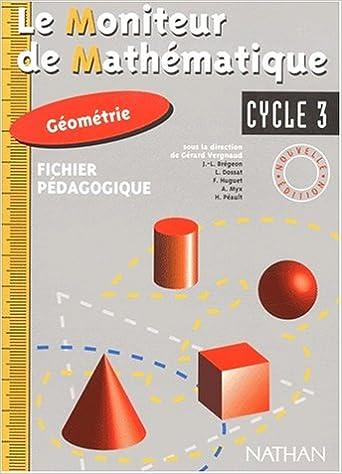 Télécharger en ligne Géométrie cycle 3. Fichier pédagogique pdf ebook