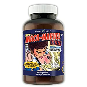 Doctor Approved Natural Male Enchantment Pills - Libido Testosterone Energy Enhancer - Maca-Marvel-XXX