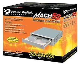 Pacific Digital 52x24x52 Internal IDE CD-RW Drive