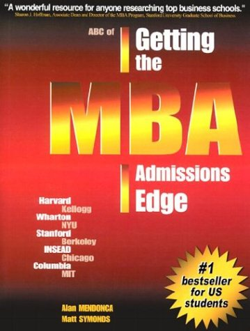 ABC of Getting the MBA Admissions Edge