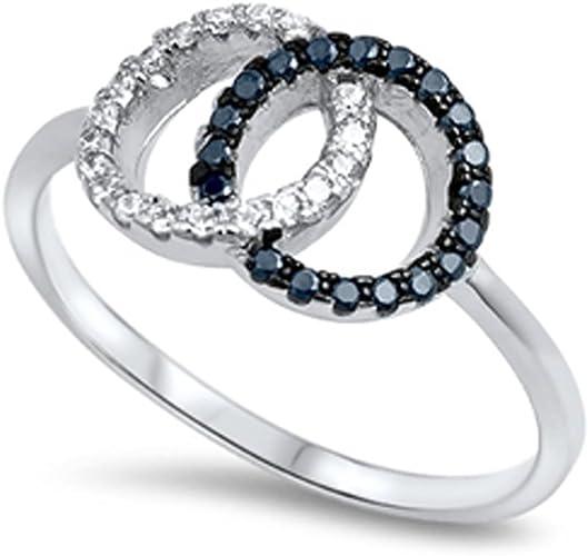 Silver Circles Ring