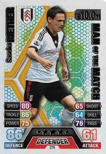Match Attax 2013/2014 Sascha Riether Fulham 13/14 Man Of The Match Topps