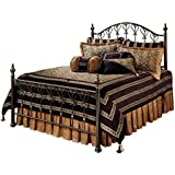 Hillsdale Furniture 1332BFR Huntley Bed Set, Bronze, Full