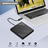 External CD Drive Type C USB 3.0 Portable CD DVD