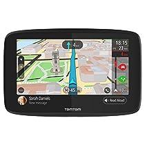 """TomTom GO 620 - Navegador GPS de 6"""" para coche (mapas del mundo, conectividad Wi-Fi), color negro"""