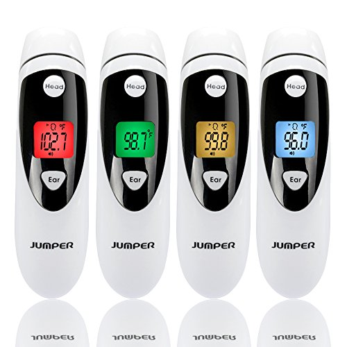 Jumper Forehead and Ear Thermometer Medical Digital Infrared Thermometer Improved Accuracy for Baby,Children&Adult by Jumper (Image #3)