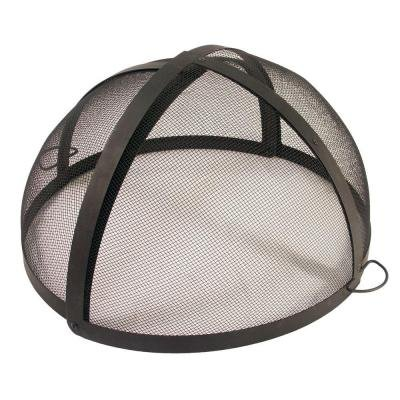 - 40 in. Fire Pit Folding Spark Screen