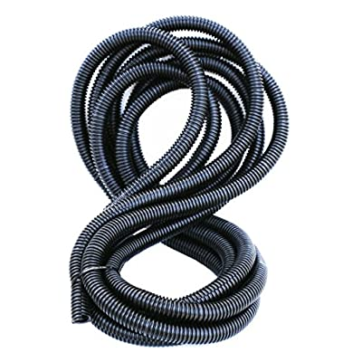 """DNF 100FT Split Loom Tubing 3/8"""" x 100 FT- SLT38, Sleeve, Sheathing, Cover, Ribbed for Strength. Automobile, Motorcycle, RV, Trailer, Electronics: Industrial & Scientific"""