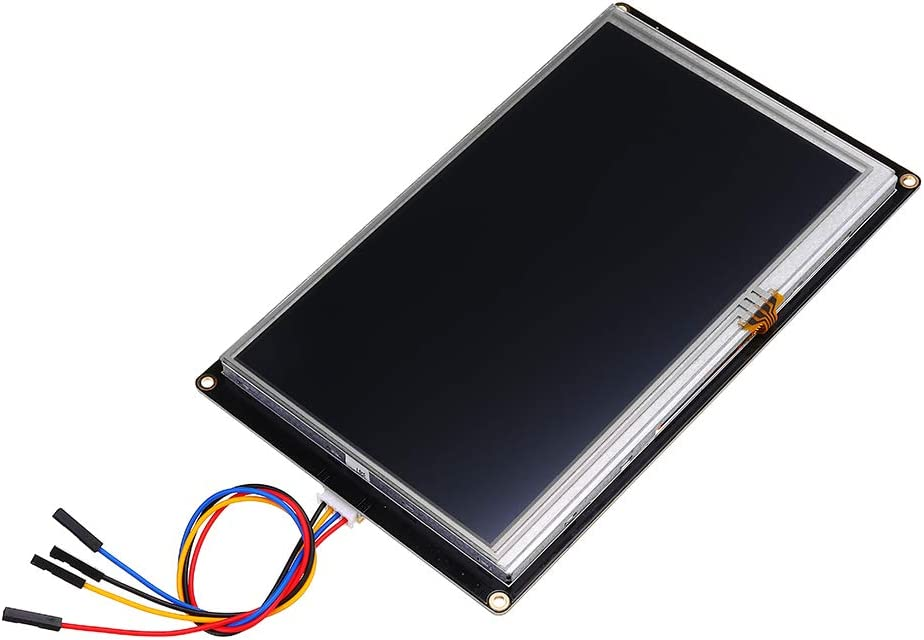 Nextion Enhanced NX8048K070 Advanced Version Screen Display 7 Inch HMI Smart USART UART Serial Module Touch Panel TFT LCD for Raspberry Pi and Arduino Kit